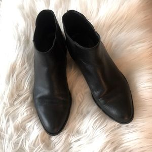 Real Genuine Leather Black Chelsea Boot 6